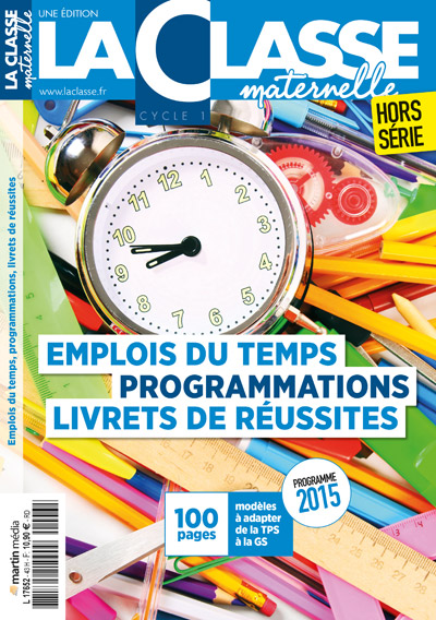 Emplois du temps & Programmations (2017) Cycle 1