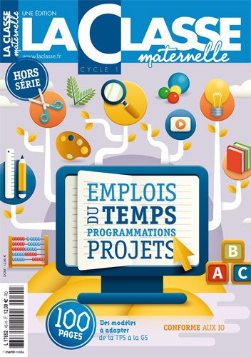 Emplois du temps & Programmations Cycle 1 - Edition 2018-19