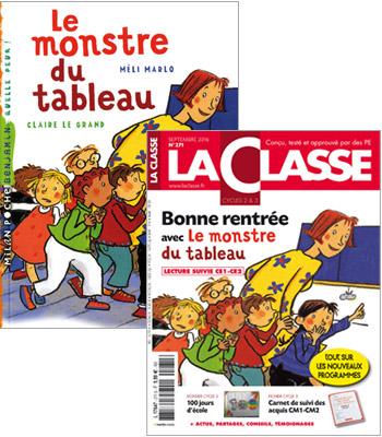 Boutique Des Editions La Classe Le Monstre Du Tableau Lecture Suivie Kit Ce1 Ce2