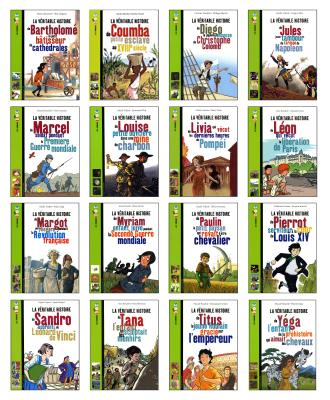 Boutique des Editions La Classe - Rallye Lecture histoire CM - 16 livres