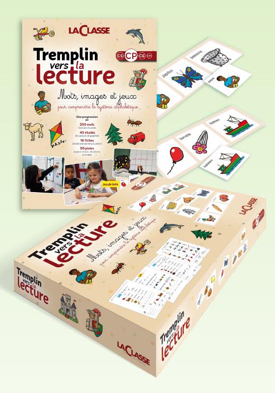 Boutique Des Editions La Classe Tremplin Vers La Lecture Gs Cp Coffret Pedagogique