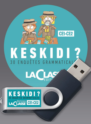 Fichier Keskidi ? (CE1-CE2) - Application USB