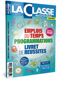 Emplois du temps & Programmations Cycle 1 - Edition 2020-21
