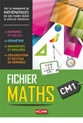 Fichier Maths CM1 - 120 fiches - 400 exercices