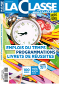Emplois du temps & Programmations Cycle 1 - Edition 2017-2018
