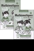 Mathématiques Petite Section Tome 1 et Tome 2